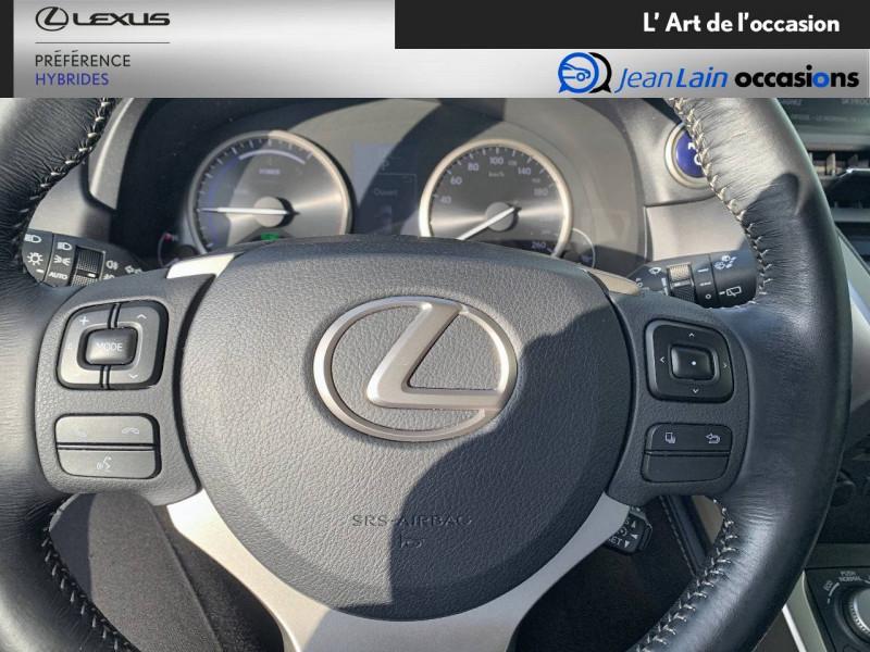 Lexus NX NX 300h 4WD E-CVT Luxe 5p Gris occasion à Seyssinet-Pariset - photo n°12