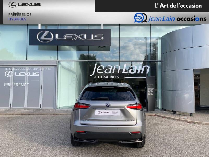Lexus NX NX 300h 4WD E-CVT Luxe 5p Gris occasion à Seyssinet-Pariset - photo n°6