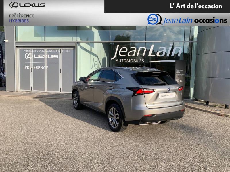 Lexus NX NX 300h 4WD E-CVT Luxe 5p Gris occasion à Seyssinet-Pariset - photo n°7