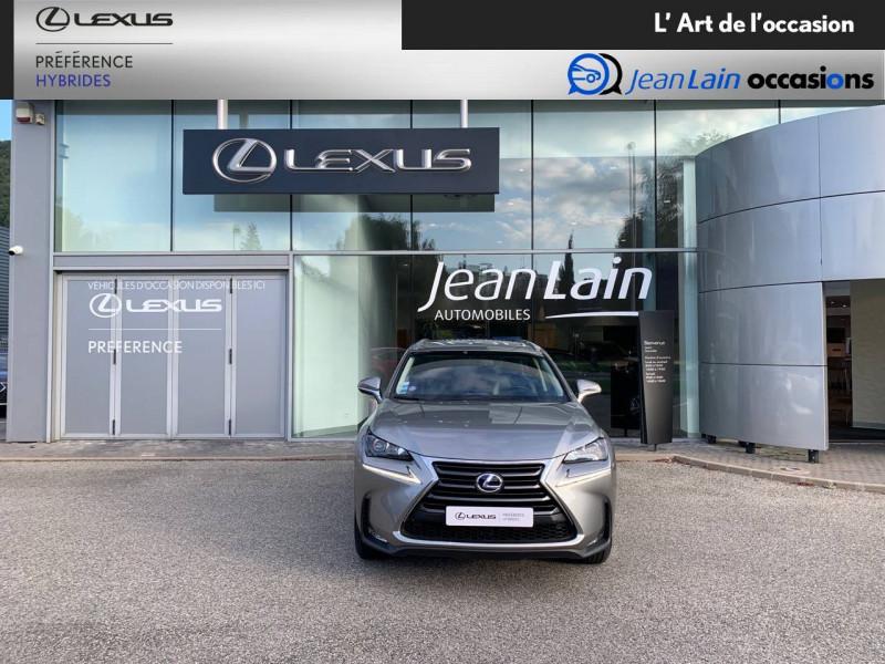 Lexus NX NX 300h 4WD E-CVT Luxe 5p Gris occasion à Seyssinet-Pariset - photo n°2