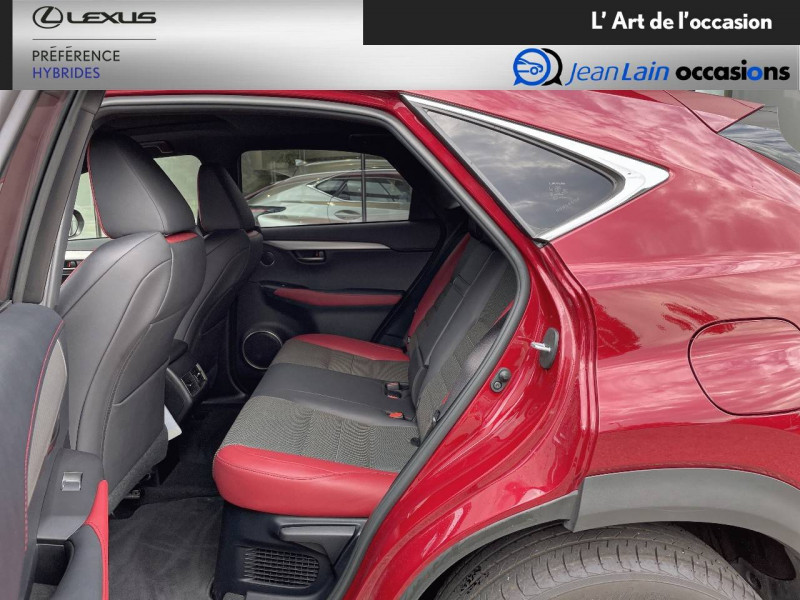 Lexus NX NX 300h 4WD F SPORT 5p Rouge occasion à Seyssinet-Pariset - photo n°17