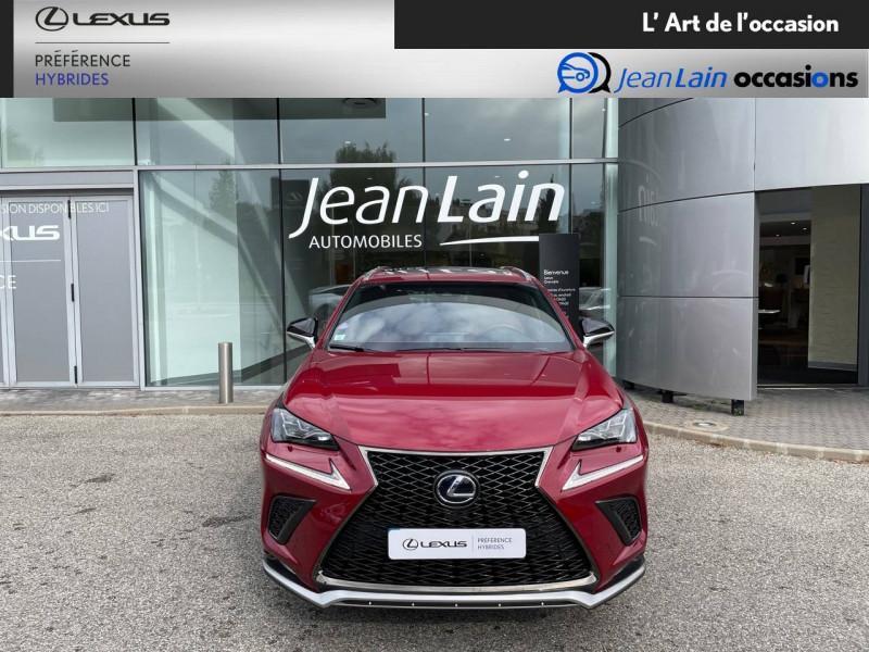 Lexus NX NX 300h 4WD F SPORT 5p Rouge occasion à Seyssinet-Pariset - photo n°2
