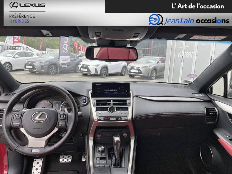 Lexus NX NX 300h 4WD F SPORT 5p Rouge occasion à Seyssinet-Pariset - photo n°18