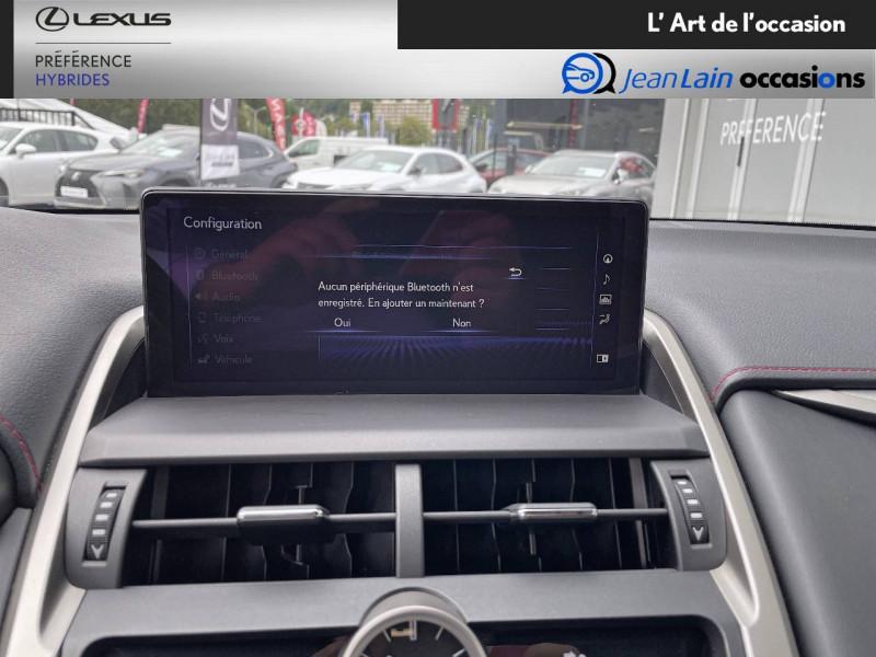 Lexus NX NX 300h 4WD F SPORT 5p Rouge occasion à Seyssinet-Pariset - photo n°16