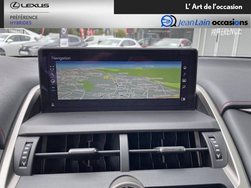 Lexus NX NX 300h 4WD F SPORT 5p Rouge occasion à Seyssinet-Pariset - photo n°15