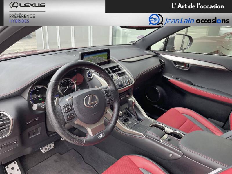 Lexus NX NX 300h 4WD F SPORT 5p Rouge occasion à Seyssinet-Pariset - photo n°11