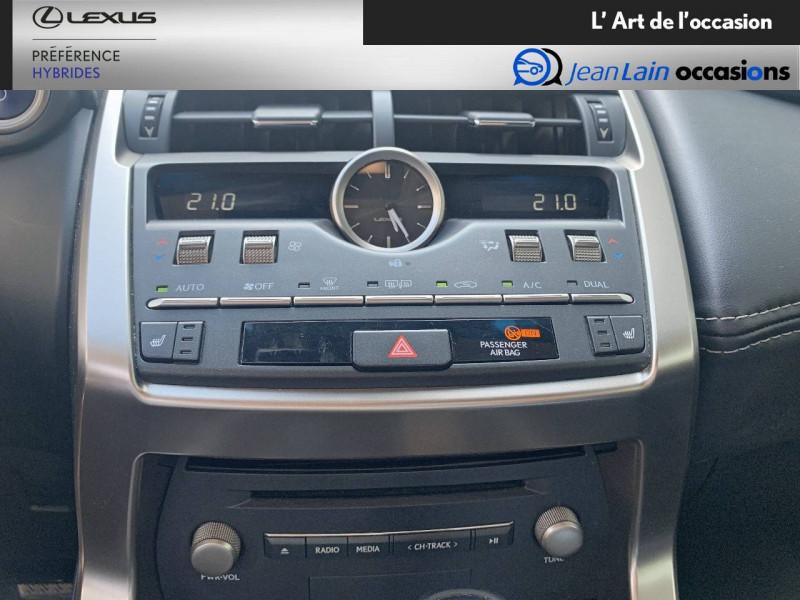 Lexus NX NX 300h 4WD Luxe 5p Noir occasion à Seyssinet-Pariset - photo n°14