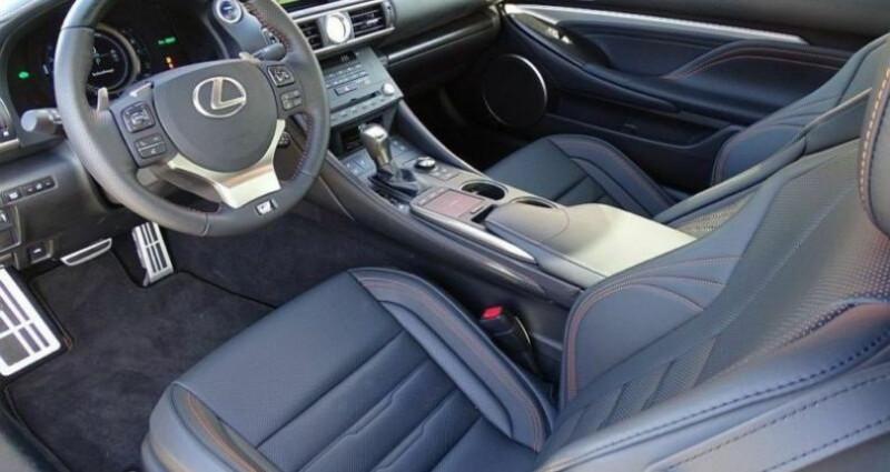 Lexus RC 300h Black Edition Noir occasion à Montévrain - photo n°4