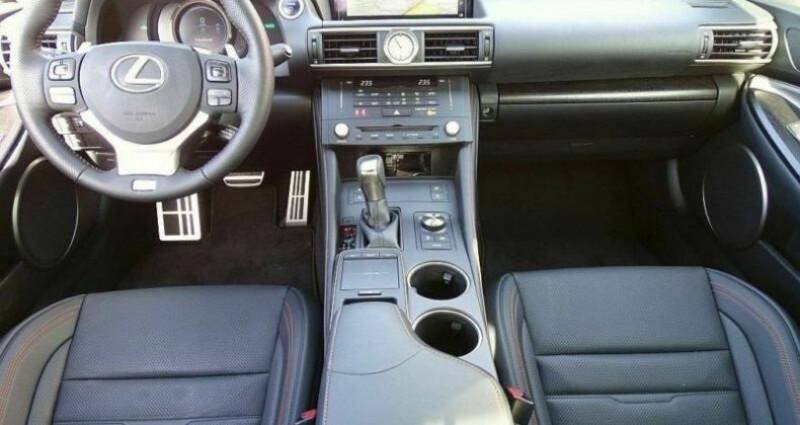 Lexus RC 300h Black Edition Noir occasion à Montévrain - photo n°7