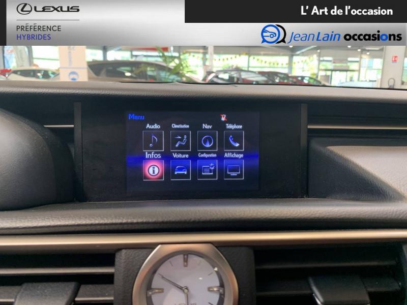 Lexus RC RC 300h E-CVT F SPORT Executive 2p Noir occasion à Seyssinet-Pariset - photo n°15