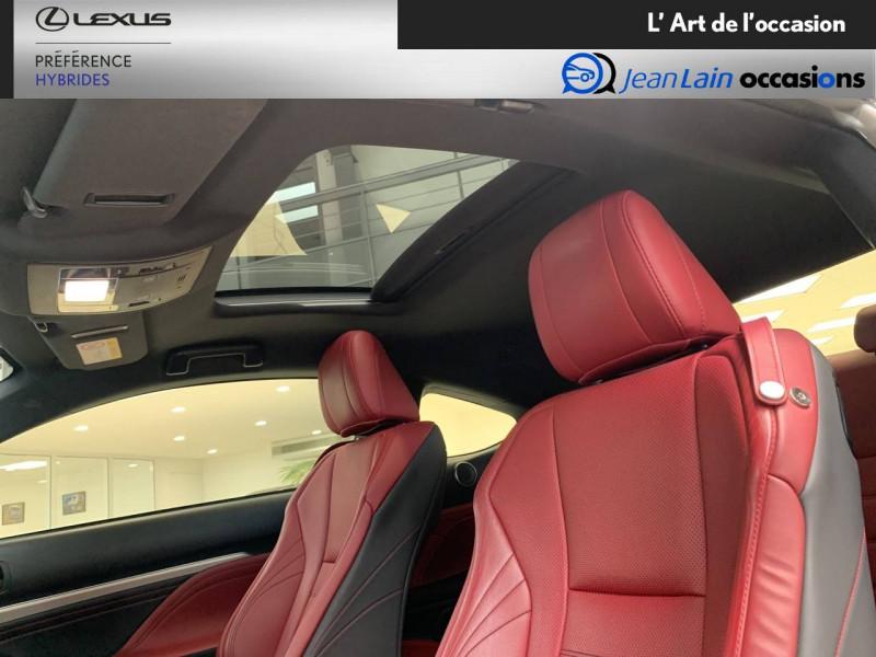 Lexus RC RC 300h E-CVT F SPORT Executive 2p Noir occasion à Seyssinet-Pariset - photo n°19