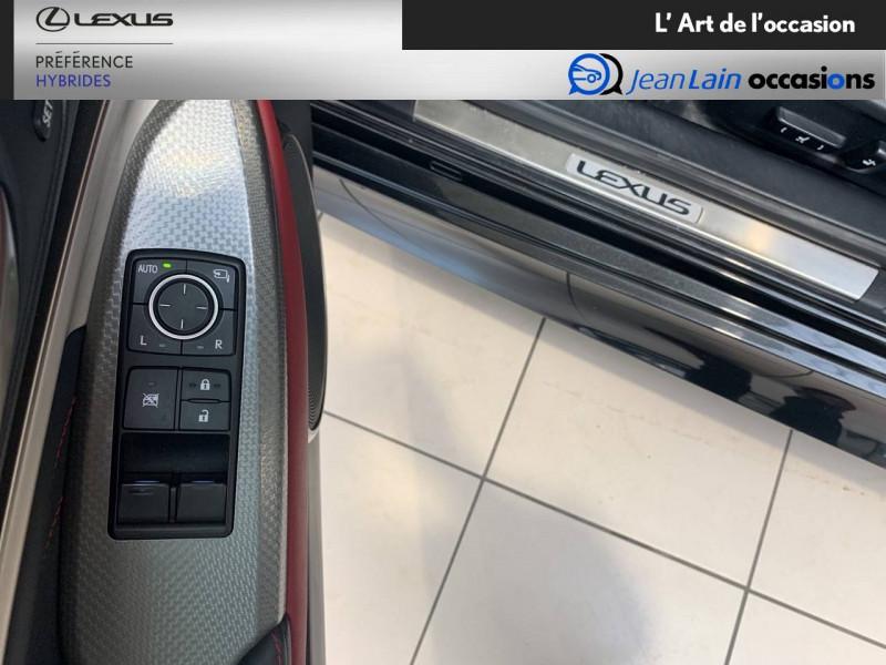 Lexus RC RC 300h E-CVT F SPORT Executive 2p Noir occasion à Seyssinet-Pariset - photo n°20