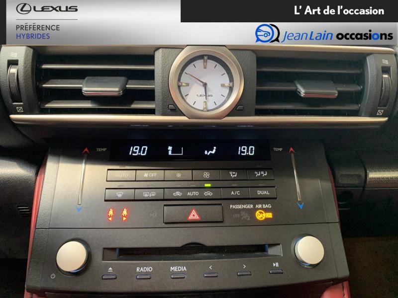 Lexus RC RC 300h E-CVT F SPORT Executive 2p Noir occasion à Seyssinet-Pariset - photo n°14