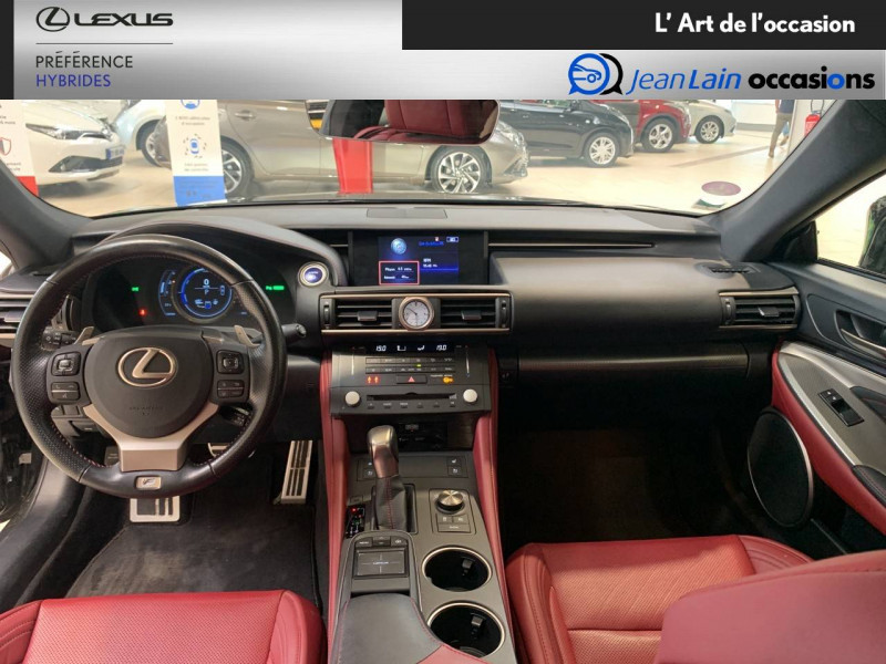 Lexus RC RC 300h E-CVT F SPORT Executive 2p Noir occasion à Seyssinet-Pariset - photo n°18