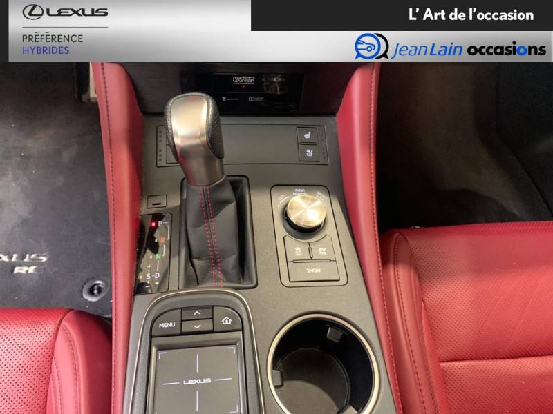 Lexus RC RC 300h E-CVT F SPORT Executive 2p Noir occasion à Seyssinet-Pariset - photo n°13