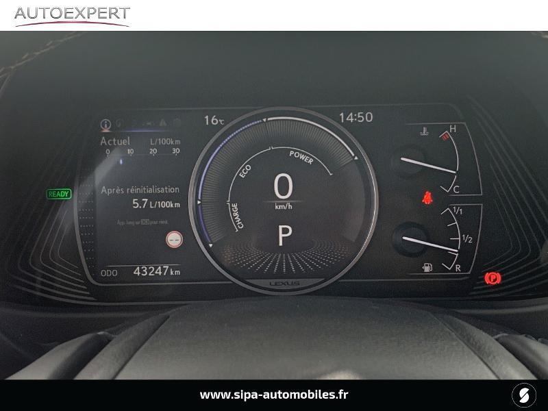 Lexus UX 250h 4WD Luxe MY19 Gris occasion à Villenave-d'Ornon - photo n°18