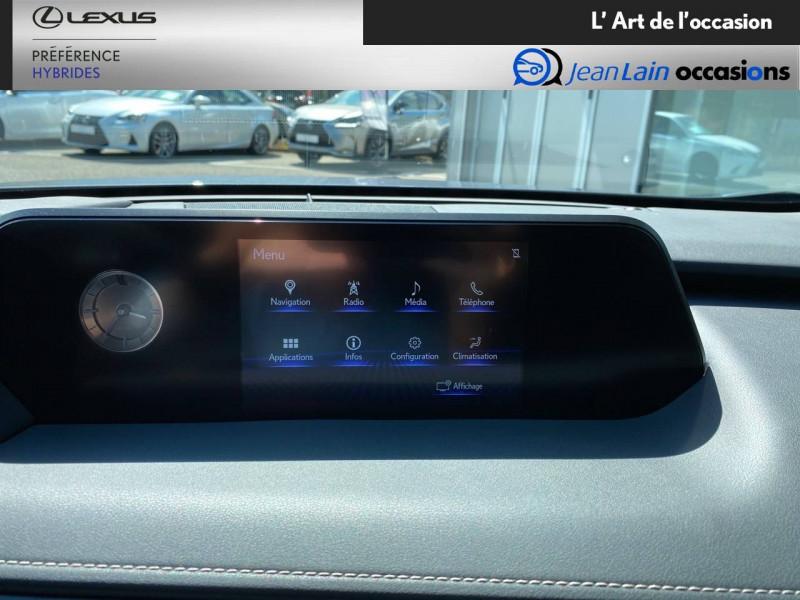 Lexus UX UX 250h 4WD Luxe 5p Gris occasion à Meythet - photo n°16