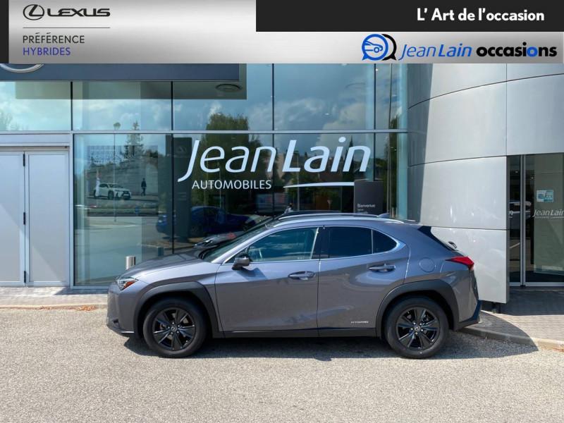 Lexus UX UX 250h 4WD Luxe 5p Gris occasion à Meythet - photo n°8