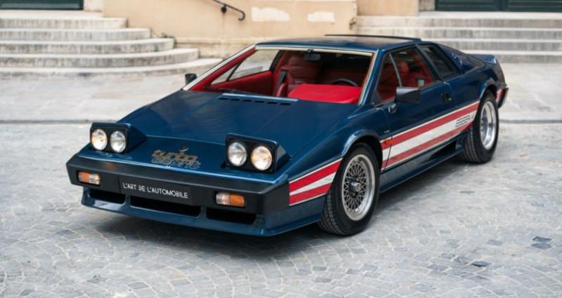 Lotus Esprit Turbo *Essex Commemorative* Bleu occasion à PARIS