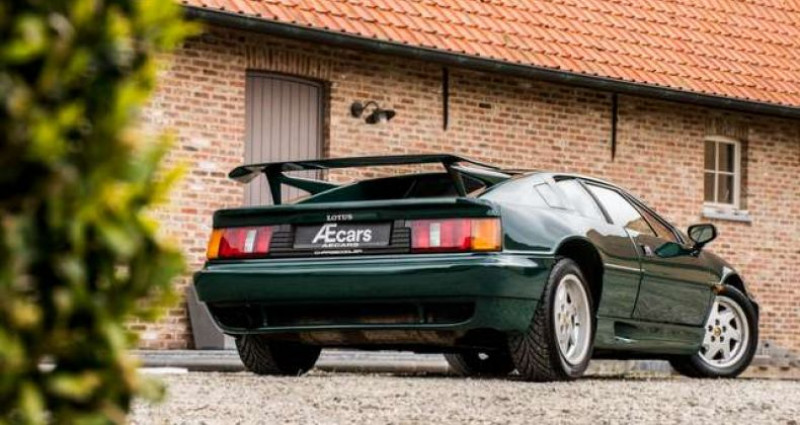 Lotus Esprit TYPE 82 - TURBO SE - MANUAL - PANO OPEN ROOF Vert occasion à IZEGEM