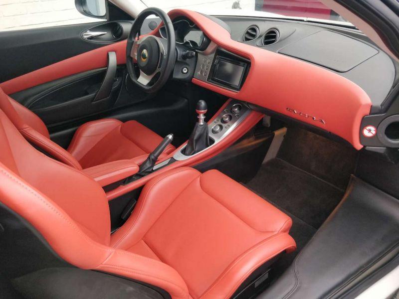 Lotus Evora 3.5 V6 S 2+2 280 ch Blanc occasion à BEAUPUY - photo n°5