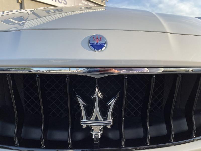 Maserati Ghibli 3.0 V6 275 CH DIESEL GRANDSPORT Blanc occasion à Colomiers - photo n°4