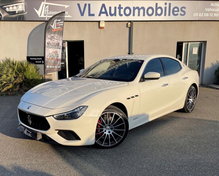 Maserati Ghibli 3.0 V6 275 CH DIESEL GRANDSPORT Blanc occasion à Colomiers