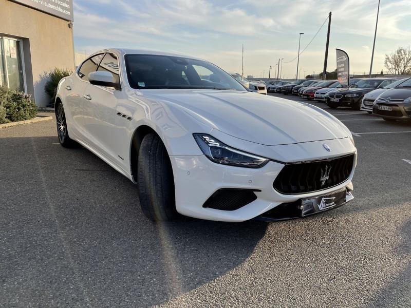 Maserati Ghibli 3.0 V6 275 CH DIESEL GRANDSPORT Blanc occasion à Colomiers - photo n°2