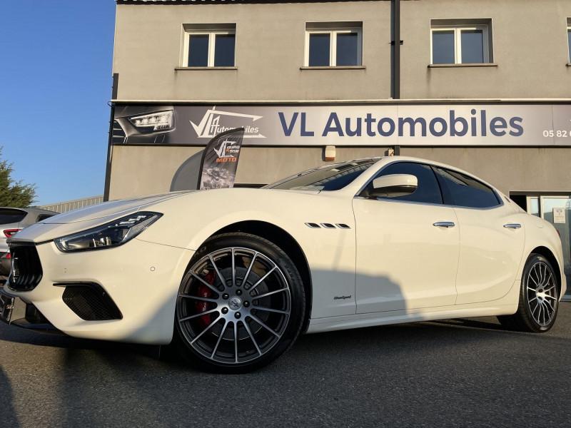 Maserati Ghibli 3.0 V6 275 CH DIESEL GRANDSPORT Blanc occasion à Colomiers - photo n°7