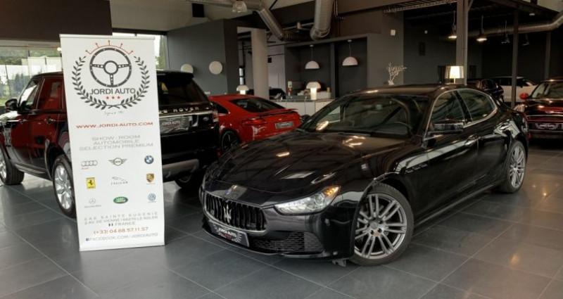 Maserati Ghibli 3.0 V6 275 D Bva8 Noir occasion à LE SOLER