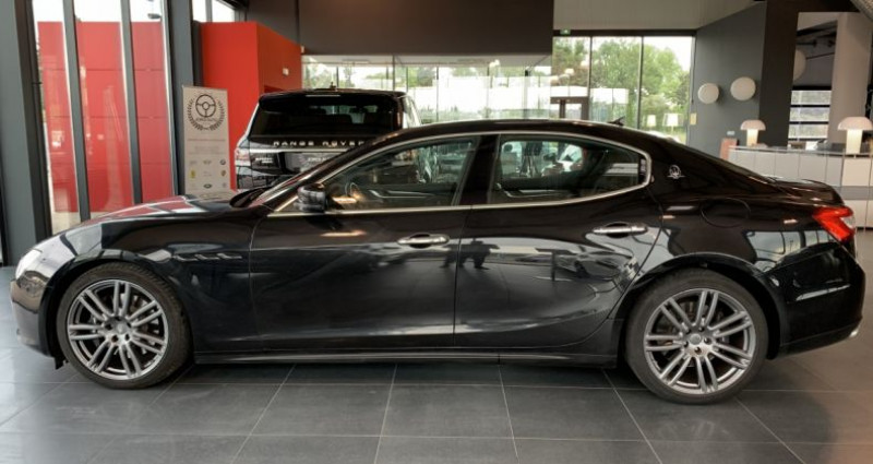 Maserati Ghibli 3.0 V6 275 D Bva8 Noir occasion à LE SOLER - photo n°2
