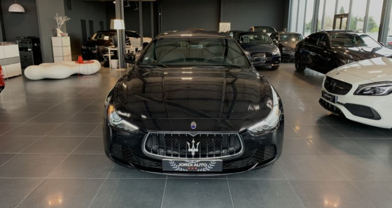 Maserati Ghibli 3.0 V6 275 D Bva8 Noir occasion à LE SOLER - photo n°4