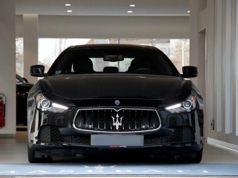 Maserati Ghibli 3.0 V6 275 D Noir occasion à BEAUPUY - photo n°9