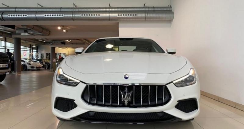 Maserati Ghibli 3.0 V6 275CH DIESEL 190G Blanc occasion à Mommenheim - photo n°6