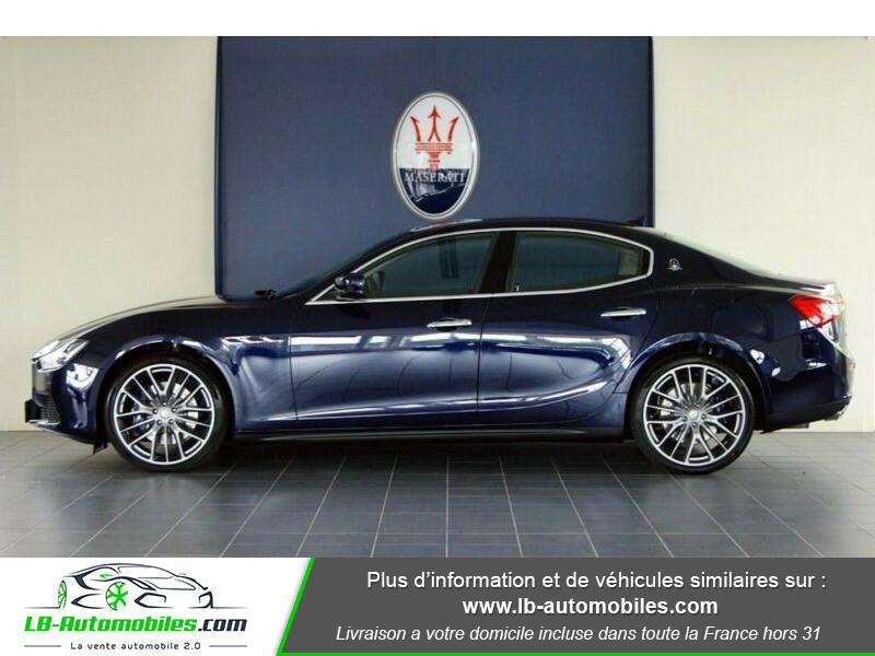 Maserati Ghibli 3.0 V6 410 S Q4 / A Bleu occasion à Beaupuy - photo n°8