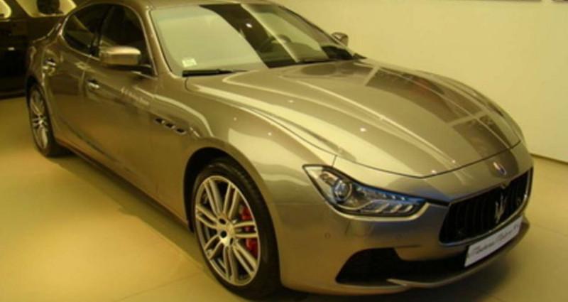 Maserati Ghibli DIESEL MY16  occasion à Sausheim