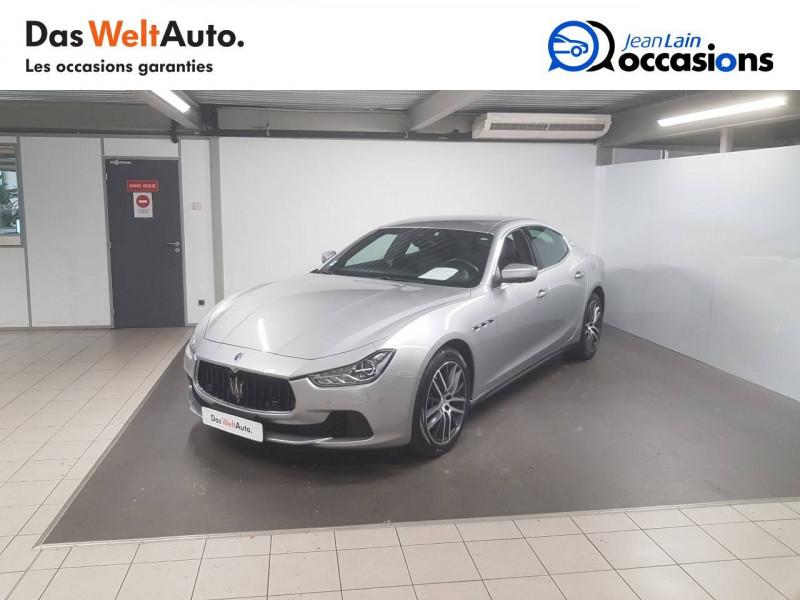 Maserati Ghibli Ghibli 3.0 V6 275 D GranLusso 4p Gris occasion à Seynod