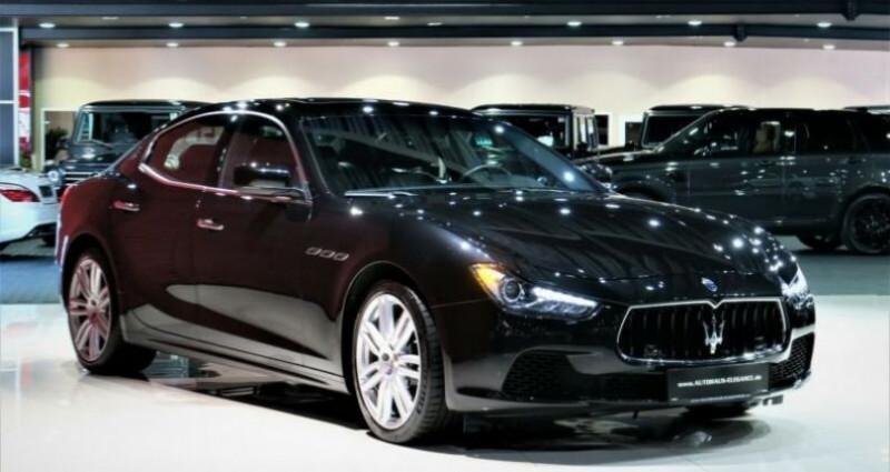 Maserati Ghibli Maserati Ghibli 3.0 V6 S Q4 automatique * BI-XENON * NAVI *  Noir occasion à Mudaison