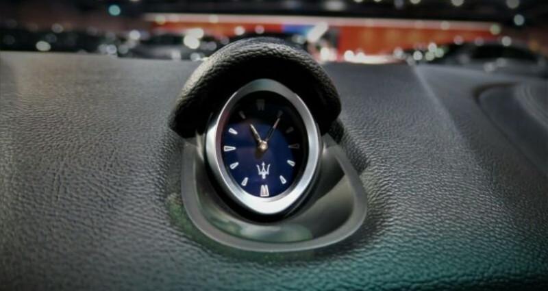 Maserati Ghibli Maserati Ghibli 3.0 V6 S Q4 automatique * BI-XENON * NAVI *  Noir occasion à Mudaison - photo n°7
