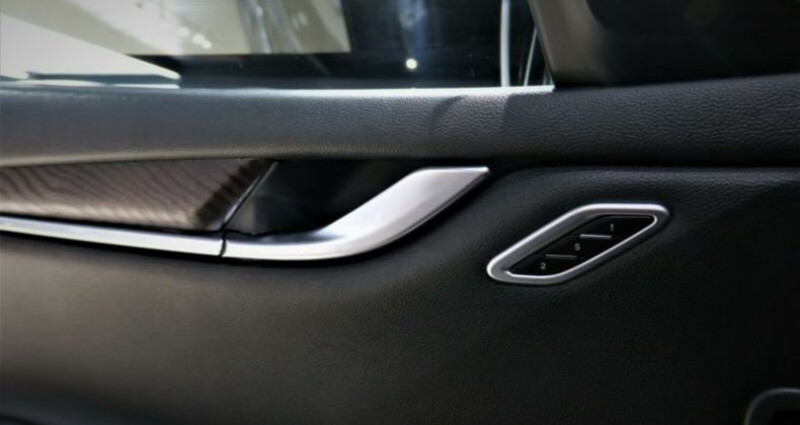 Maserati Ghibli Maserati Ghibli 3.0 V6 S Q4 automatique * BI-XENON * NAVI *  Noir occasion à Mudaison - photo n°6