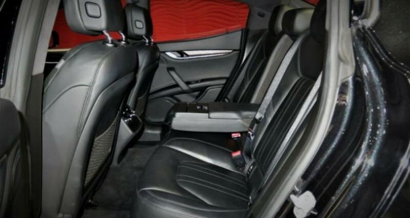 Maserati Ghibli Maserati Ghibli 3.0 V6 S Q4 automatique * BI-XENON * NAVI *  Noir occasion à Mudaison - photo n°4