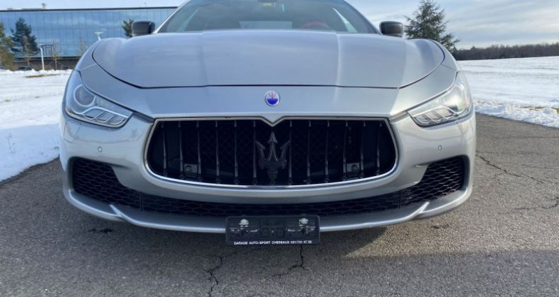 Maserati Ghibli S Q4 3.0 V6 Performances «Novitec» 456 PS- Suspension Sport  Gris occasion à Cheseaux-sur-Lausanne