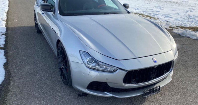 Maserati Ghibli S Q4 3.0 V6 Performances «Novitec» 456 PS- Suspension Sport  Gris occasion à Cheseaux-sur-Lausanne - photo n°3