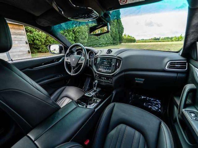 Maserati Ghibli V6 275 D Noir occasion à BEAUPUY - photo n°4
