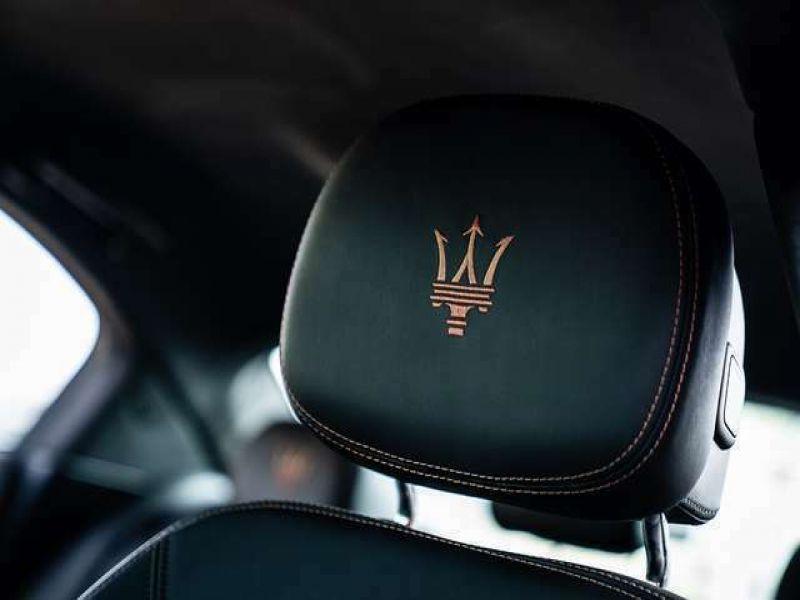 Maserati Ghibli V6 275 D Noir occasion à BEAUPUY - photo n°8