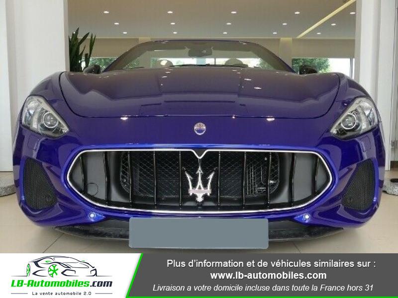 Maserati Gran Cabrio 4.7 V8 460 Bleu occasion à Beaupuy - photo n°9