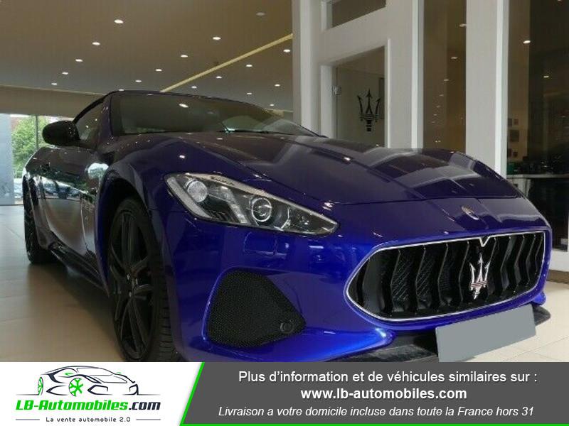 Maserati Gran Cabrio 4.7 V8 460 Bleu occasion à Beaupuy - photo n°3