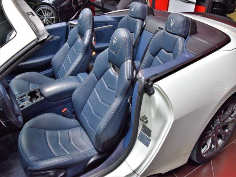 Maserati Gran Cabrio 4.7 V8 MC 460 Blanc occasion à BEAUPUY - photo n°4