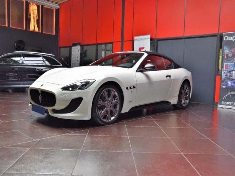 Maserati Gran Cabrio 4.7 V8 MC 460 Blanc occasion à BEAUPUY