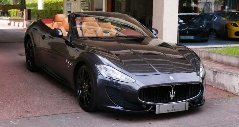 Maserati Gran Cabrio MASERATI GRANCABRIO SPORT 4.7 v8 460cv AUTOMATIQUE Gris occasion à Saint-maur-des-fossés - photo n°3